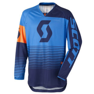 Motokrosový dres SCOTT 350 Track MXVII Blue-Orange - M (46-48)