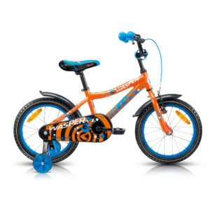 "Dětské kolo KELLYS WASPER 16"" - model 2017 Orange - 245 mm (9"