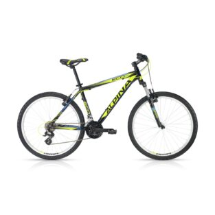 "Horské kolo ALPINA ECO M20 black-lime 26"" - model 2016 495 mm (19"